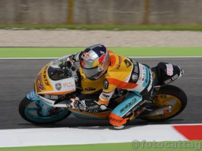 Moto3, GP Repubblica Ceca 2018: Kazuki Masaki è il più veloce nella FP2 con tre italiani nei primi cinque