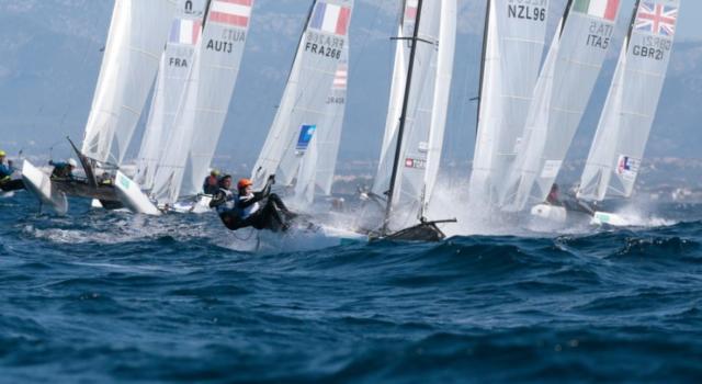 Vela, Europei Nacra17: terza piazza per Gianluigi Ugolini e Maria Giubilei al termine della prima giornata