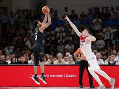 Basket, Finale Scudetto 2018: tracollo di Milano nell'ultimo quarto, Trento non molla e pareggia la serie. Finisce 77-74