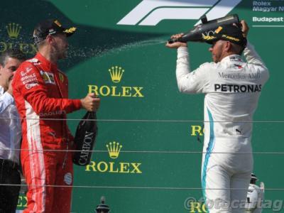 F1, quanto guadagnano i piloti? La classifica e gli stipendi più ricchi. Guida Sebastian Vettel, 2° Lewis Hamilton