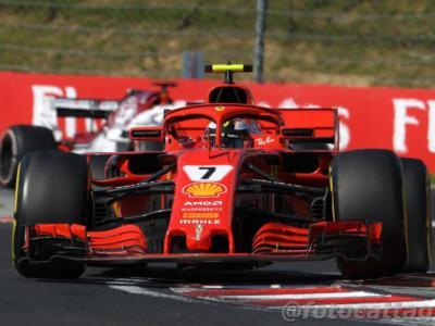 F1, GP Belgio 2018: prove libere 2. Ferrari davanti alla Mercedes con Kimi Raikkonen! Sebastian Vettel super sul passo gara