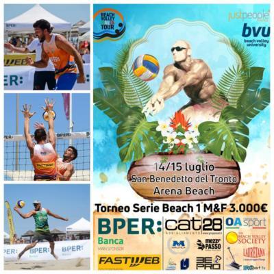 BPER Banca Beach Volley Tour    San Benedetto del Tronto pronto ad accogliere le stelle