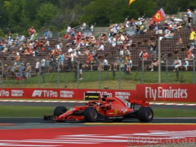 F1, GP Ungheria 2018: prove libere 2. Sebastian Vettel è il più veloce ma quanta incertezza in vista della gara