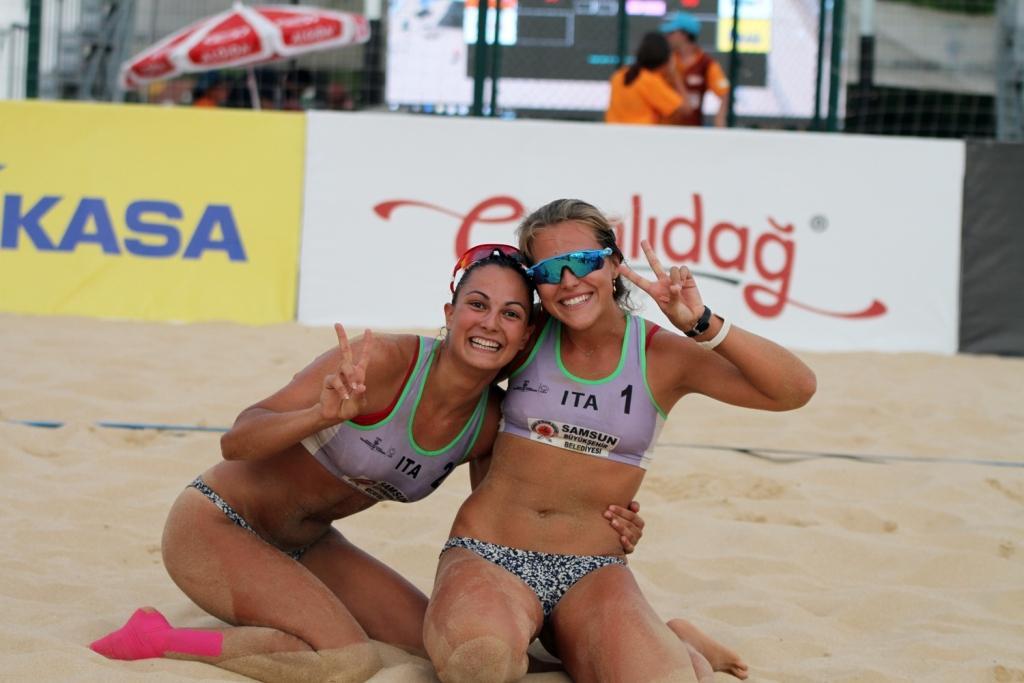 Beach volley, novità azzurre al femminile. Sara Breidenbach e Francesca Michieletto in Nazionale
