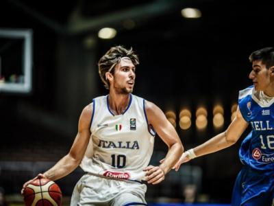 Basket, Europei Under 20 maschili: Italia ai quarti, eliminata la Grecia detentrice del titolo. Adesso c'è la Croazia