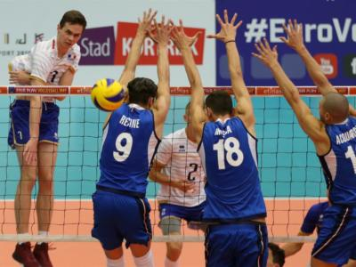 Volley, Europei U20 2018: l'Italia sconfigge la Francia all'esordio, Cantagalli top scorer