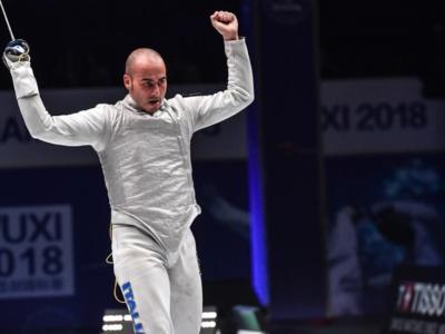 """Scherma, Alessio Foconi: """"Alle Olimpiadi di Tokyo vado per vincere. Mi dà forza essere tra i favoriti"""""""