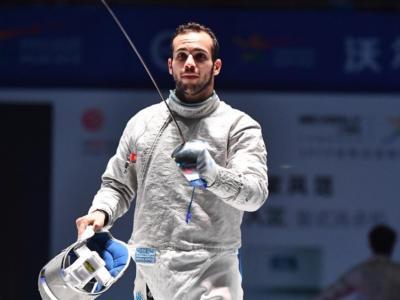 """Luca Curatoli, scherma: """"A Tokyo per una medaglia. Credo che Montano ci sarà, ha carisma ed esperienza"""""""