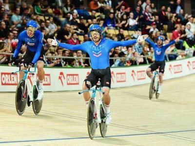 LIVE Ciclismo su pista, Coppa del Mondo Hong Kong 2019 in DIRETTA: Carloalberto Giordani quarto nello Scratch, vince il neerlandese Eefting
