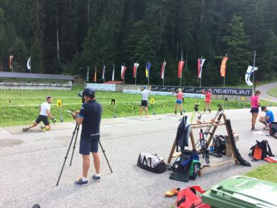 Biathlon: azzurri al lavoro nella Carnia Arena di Forni Avoltri fino al 24 agosto