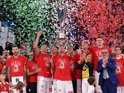 Basket, Supercoppa Italiana 2018: terzo titolo per l'Olimpia Milano. Sconfitta una Torino mai doma