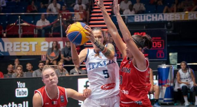 Basket 3×3, Europei 2018: Italia femminile rimontata e superata dall'Ucraina all'overtime, è quarto posto per le azzurre