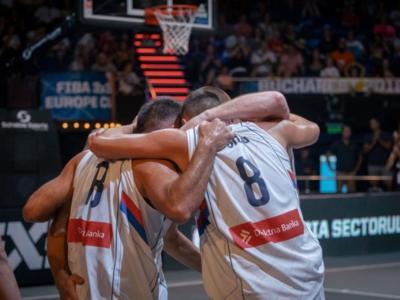 Basket 3×3, Europei 2018: il titolo maschile va alla Serbia dopo una finale drammatica, quello femminile alla Francia