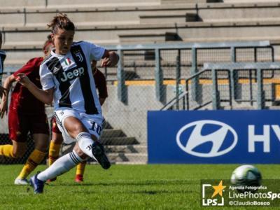 Calcio femminile, Serie A 2019-2020: la Juventus vince a Roma e torna in testa alla classifica