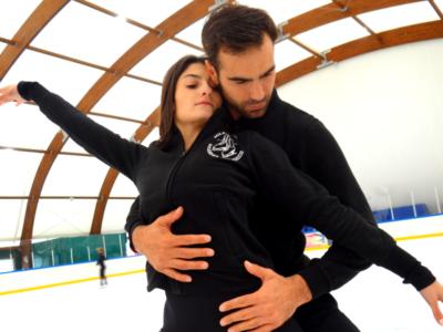 """Pattinaggio artistico: la nuova avventura sul ghiaccio di Marco Santucci in coppia con Irma Caldara: """"Lavoriamo gradualmente, stiamo migliorando tanto"""""""