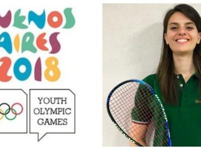 Squash: Cristina Tartarone alle Olimpiadi giovanili di Buenos Aires 2018