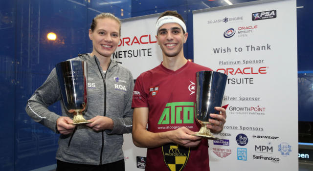 Squash, PSA World Tour 2018: Ali Farag e Sarah-Jane Perry trionfano a San Francisco