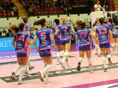 Volley femminile, Challenge Cup 2019: Monza vola agli ottavi di finale, ampio turnover e Perg sconfitto