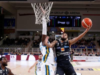 EuroCup basket 2019, gli orari delle partite della settimana. Come vedere in tv e streaming Torino, Trento e Brescia