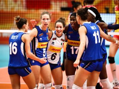Volley femminile, le convocate dell'Italia per il collegiale di Cavalese: 19 azzurre, rientrano Sorokaite e Caterina Bosetti