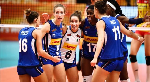 Volley femminile, Nations League 2021: calendario partite Italia. Date, programma, orari, tv