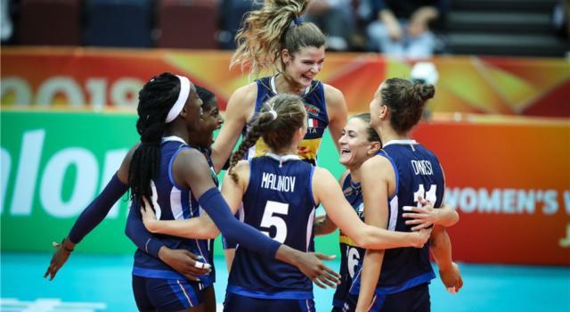 Volley femminile, Mondiali 2018: l'Italia cancella l'Azerbaijan e avvicina la Final Six. Miriam Sylla incontenibile