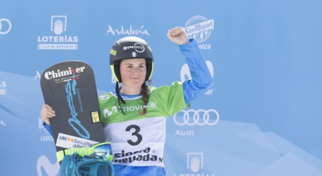 """Snowboardcross, Michela Moioli: """"Dedico il secondo posto a tutti gli italiani: momento difficile, ne verremo fuori"""""""