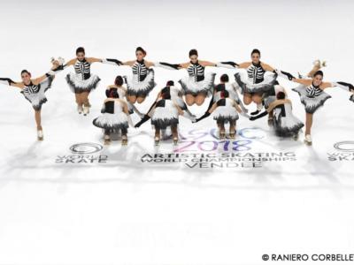 Pattinaggio artistico a rotelle, Mondiali 2018: il gruppo Millennium trionfa nel Precision, bronzo per le azzurre del Sincro Roller