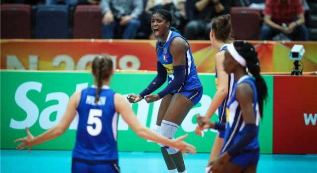 Volley femminile, Mondiali 2018: l'Italia spazza via anche la Thailandia. Final Six ad un passo