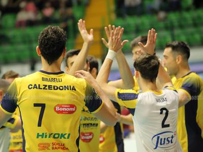 Volley, Superlega 2019-2020: Verona batte Piacenza al tie-break, Stephen Boyer grande trascinatore