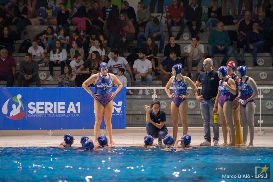 Pallanuoto femminile |  Serie A1 2020-2021 |  Florentia-Catania 5-12  Etnee con la Roma a punteggio pieno
