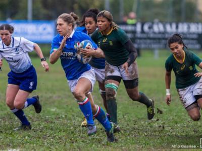 Rugby, Test Match novembre 2018: spettacolare vittoria della Nazionale femminile, battuto il Sudafrica 35-10