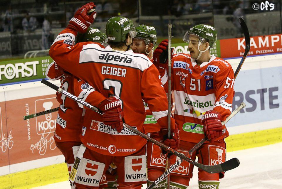 Hockey ghiaccio, EBEL 2018-2019: Bolzano si fa rimontare ...
