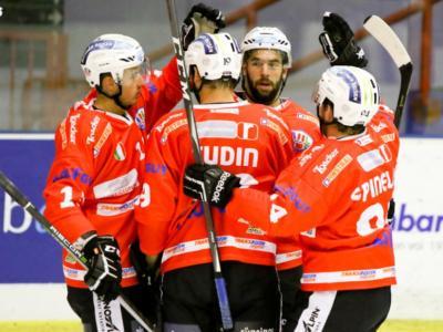 Hockey ghiaccio, Alps League 2020-2021: Renon stende Val Pusteria, Vipiteno ko a Salisburgo