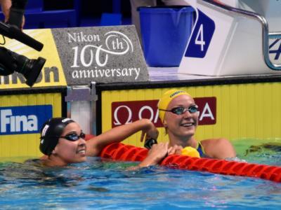 Nuoto, Kamminga e Kromowidjojo subito coi fuochi d'artificio ad Anversa!