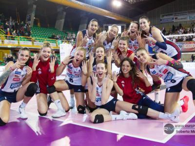 Volley femminile, Serie A1: 19^ giornata, Bergamo vince il derby con Brescia e lancia la corsa per i playoff