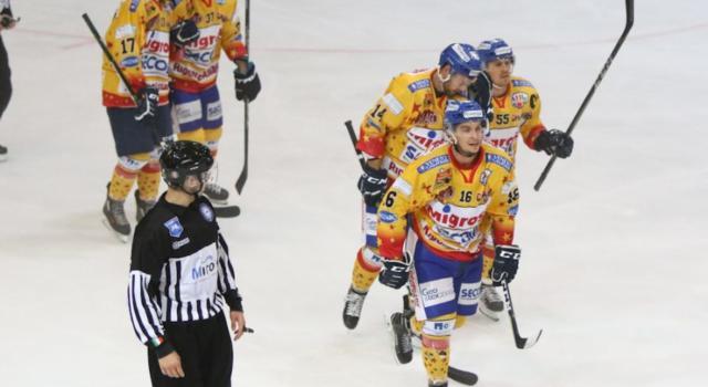 Hockey ghiaccio, Alps League 2021-2022: Asiago schianta Gherdeina