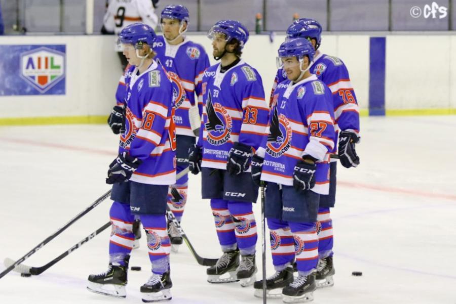 Hockey ghiaccio, Alps League 2021 2022: Fassa batte 4 3 l'EC KAC Future Team