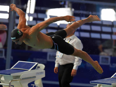 """Swimming, Fabio Scozzoli: """"I want to overcome my limits. 50 breaststroke at the Olympic Games? I will race until I'm 40"""""""