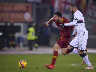 Roma-Genoa 3-2, Serie A: partita pazza tra papere e ribaltoni, Cristante e Kluivert rimediano all'errore di Olsen