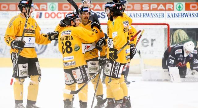 Hockey ghiaccio, Alps League 2020: vincono Val Pusteria, Renon, Vipiteno, Asiago e Fassa, cadono Cortina e Gherdeina