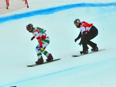 VIDEO Snowboardcross: a Montafon Omar Visintin parte con un podio. Vince Haemmerle
