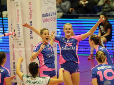 Volley femminile, Challenge Cup 2019: Monza regola il Gent e si avvicina ai quarti di finale