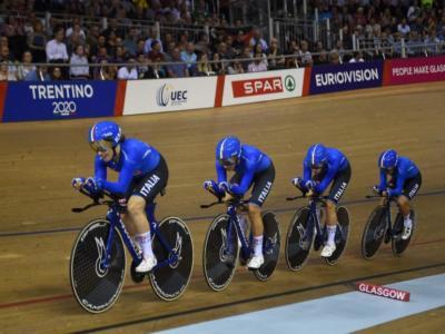 LIVE Ciclismo su pista, Europei 2020 in DIRETTA: Martina Fidanza è oro! I due quartetti azzurri approdano in finale!