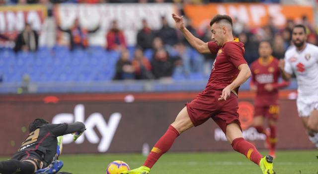 Roma-Torino 3-2, Serie A: i giallorossi si fanno rimontare, poi vincono con El Shaarawy