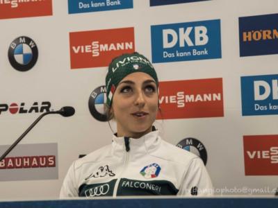 """Lisa Vittozzi, biathlon: """"In squadra siamo tranquilli. Competitiva in ogni format, ma non mi pongo obiettivi"""""""
