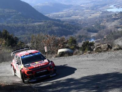 Rally Montecarlo 2020, Sebastien Ogier il più veloce nello shakedown di Gap davanti a Neuville ed Evans