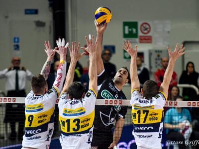 LIVE Modena-Perugia volley, Superlega 2019 in DIRETTA: i Block Devils si impongono 3-1