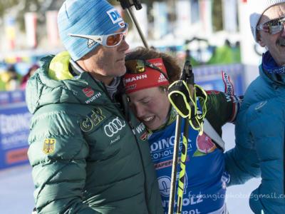 Biathlon, World Team Challenge 2019: domina la Norvegia, una commovente Dahlmeier saluta col quarto posto. Italia 5°