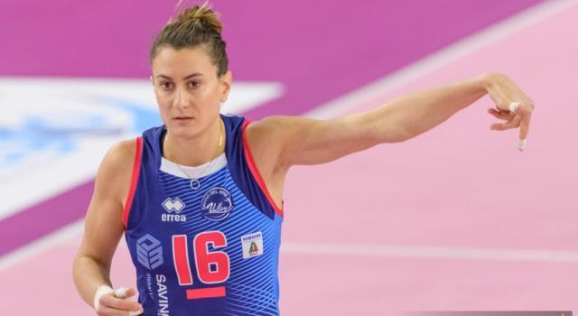 Volley femminile: stagione finita per Lucia Bosetti, l'azzurra si opera alla spalla destra